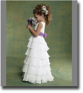 LIttle girl wedding