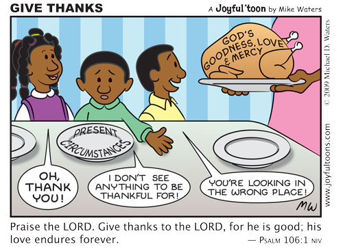 Thanks Giving is a Verb | God's Surprising Treasures