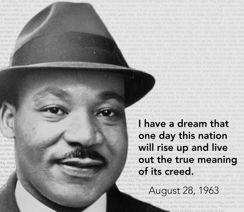 martin luther kings contribution to american American civil rights leader dr martin luther king jr  martin luther king iii and daughter  my dad made an incredible contribution to our world'.