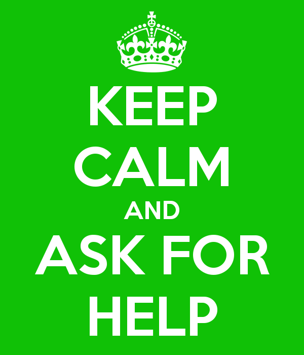 help calm