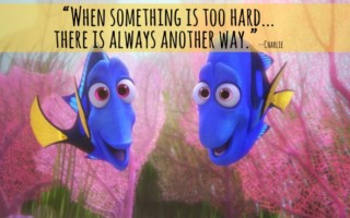 dory- something is too hard